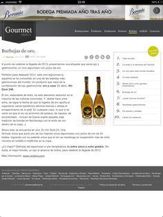 La web Orbyt recomienda Vin Doré 24K