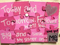 #Sorority #Greek #Big #Little #Reveal #DIY #Puzzle #Sisters