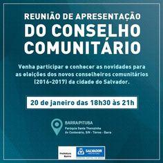 Blog do Rio Vermelho, a voz do bairro: É bom comparecer para ver do que se trata
