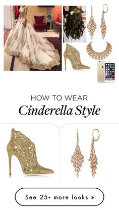 """"""" Gold ! """" by amnavore on Polyvore featuring Allurez and Loriblu"""