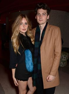 Pin for Later: This Week's Can't-Miss Celebrity Photos  Diana Vickers and George Craig were out and about in London.