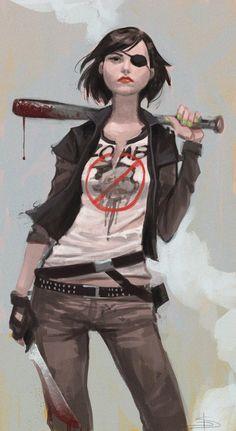 Zombie Hunter by david-sladek Arte Zombie, Zombie Art, Character Design References, Character Art, Character Concept, Character Reference, Apocalypse Character, Zombie Apocalypse, Cyberpunk