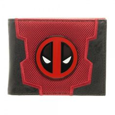Deadpool Suit Up Bi-Fold Mens Wallet Boxed Marvel Comics Movie Uniform Costume  #Bioworld #Bifold