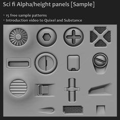 Alphas & Brushes | ZBrush