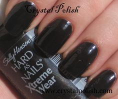 Sally Hansen Black Out...Best Black Nail Polish