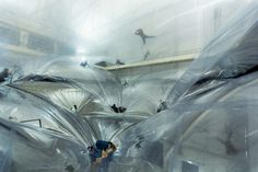 TOMAS SARACENO – On Space Time Foam, Hangar Bicocca 2012/13