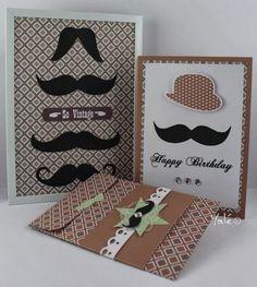 Histoire de... ou si le scrap était conté: Moustaches par çi, moustaches par là !