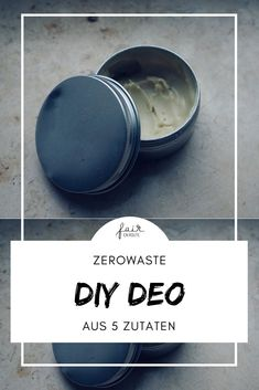 Eco: natural DIY deodorant - chemical-free, natural & organic- Eco: natürliches DIY Deo – chemiefrei, natürlich & bio Deodorant made from only 5 ingredients – plastic-free and ecological - Diy Deodorant, Shampooing Diy, Organic Skin Care, Natural Skin Care, Organic Beauty, Diy Beauty, Beauty Skin, Beauty Tips, Neutrogena