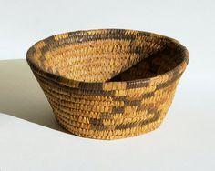 Vintage Southwestern Basket   Papago Tohono by Park5Vintage