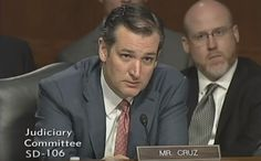 """Watch as ICE Director Is Forced to Tell Ted Cruz He's 'Absolutely Right' After He Disputes Her Claim During Hearing. Obama administration released 104,000 """"criminal illegal aliens."""
