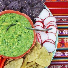 Tomatillo-Avocado Salsa: This salsa makes a great (and healthy!) dip ...