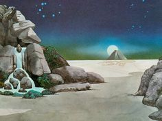roger dean art | roger dean close to images roger demons and asia album