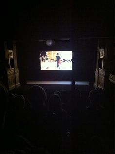 Twitter / CPraetorius: The show starts with a movie ...