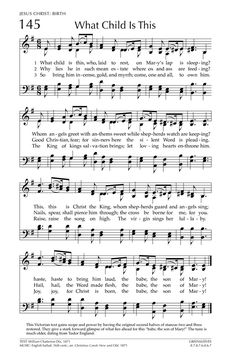 what child is this glory to god the presbyterian hymnal page 218 - Christmas Songs For Church