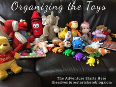 Organizing toys / The Adventure Starts Here