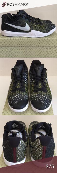 super popular 0f43f 50e77 NEW  100 Nike Kobe Basketball Shoes Sz. 9 Brand new men s black yellow Nike