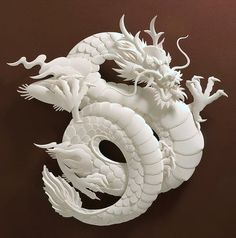 Amazing paper sculptures created by Jeff Nishinaka.