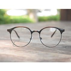 1920s Vintage oliver retro eyeglasses 10R0 brown frames Round eyewear rubyruby