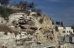 Image result for picture of the hill of golgotha in israel where jesus was crucified
