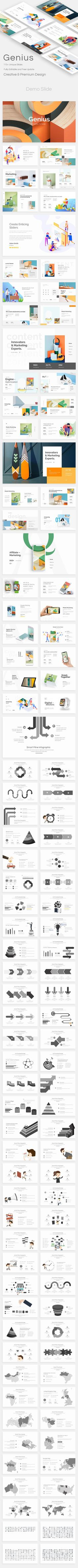 Genius Premium Keynote Template - GraphicRiver #presentation #template #presentations  #graphicdesign #design #EnvatoMarket #graphicdesigner #BestDesignResources Presentation Design, Presentation Templates, Seo Analysis, World Data, Creative Powerpoint Templates, Keynote Template, Graphic Design, Flowchart, Screen Size