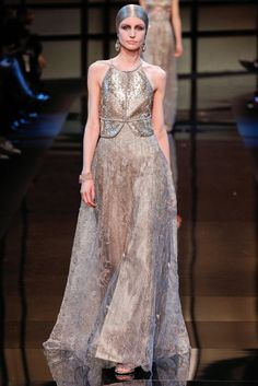 Armani Privé Spring 2014 Couture - Collection - Gallery - Look 1 - Style.com