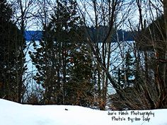 Winter on Isabella lake East of Orrville Ontario
