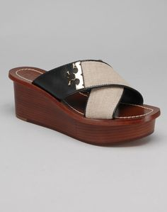 Tory Burch Cruise 2015 has started to arrive, look at these adorable wedge sandals!