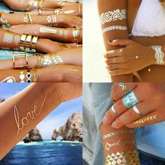 AP is now carrying gold tattoos! Come check out our various designs and pick out your favorites. Stop by and try it for yourself or order today call Colorado Tattoo, Gold Tattoo, Tattoo Transfers, You Are Perfect, Tattoos, Beauty, Check, Photos, Instagram