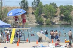 Shadow Cliffs Park  is a haven for swimming and fishing. Only a mile from downtown Pleasanton on Stanley Boulevard.