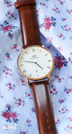I don't normally wear a watch except when I want to look fancy. And when I do wear a watch, I always wear Daniel Wellington. They that I'm kind of obsessed with their timepieces, so in partnership with them, they are offer a 15% discount code for IBC readers. Enter code: CHARM at checkout for 15% off your order. There's also FREE shipping worldwide! Code expires 6/30/16. Happy shopping!