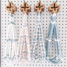 Give the perfect Catholic Baptism gift with these teething rosaries from Manducat Rosaries. They are handmade from high quality, food-grade and FDA Approved silicone beads, and accented with a locally made wooden teething cross. The cross is sanded smooth and finished with a baby-safe beeswax/mineral oil blend. Costs $45 shipped! You get to choose the colors.<br>