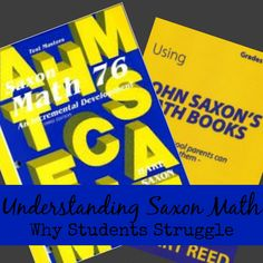 "Do you have a struggling Math student and you are looking for some answers? Sometimes it's simple things that we can adjust to move from struggling to success..... Like I mentioned in my last Saxon post, Saxon has been a homeschool Mainstay for many years. But being a mainstay doesn't guarantee folks understand your program or that they know how to properly utilize it. As we transition our rising 6th grader to Saxon 7/6 I realized I really didn't ""KNOW"" Saxon."