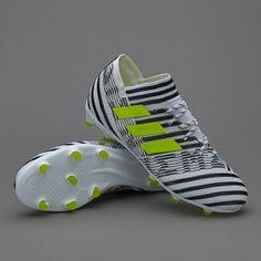 adidas Kids Nemeziz 17.1 FG  - White/Solar Yellow/Core Black