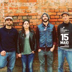 Dia 15 Sexta ! 22h30 Clube Ferroviário Sta. Apolonio, Lisboa  The SoneWolf Band + Mau Mau DJ Set,  6€