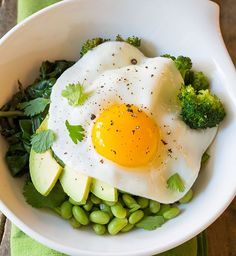 Buddha bowl aux légumes verts