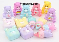 Vintage Style Care Bears and My Little Pony - Super Cute Kawaii! Bob Marley, Care Bears Vintage, Candy Room, Birthday Care Packages, Cute Disney Pictures, My Little Pony Rarity, Cute Squishies, Cute Animal Drawings Kawaii, Cousin