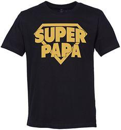 SR - Super Papa & Super Môme - Ensemble de T-shirts pour Père et bébé: Amazon.fr: Vêtements et accessoires