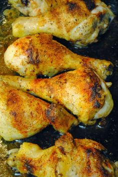 baked chicken drumsticks