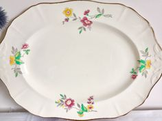 Flower Design Turren Flower Dish.by Alfred Meakin A Great Variety Of Goods Alfred Meakin Turren