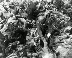 World War 2 Holocaust Memorial Day (Nazi Concentration Camp Pictures)