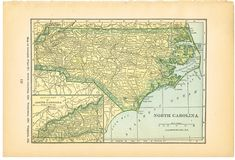Antique Graphics Wednesday - 1900's Maps of the World & ALL 50 States! - Knick of Time