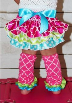 Boutique Infant Toddler STARBURST RUFFLE LEGWARMERS Abigail Jade #Boutique #LegWarmers