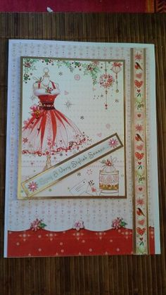 Oct 2014 using freebies from Cardmaking and Papercraft magazine