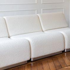 Contemporary Furniture, Contemporary Design, Socialite Family, Side Tables Bedroom, Taking Shape, Vintage Sofa, White Sofas, Module, Modular Sofa
