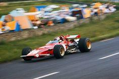 Ignazio Giunti, Ferrari 312B (GP Belgium, Spa, 1970)