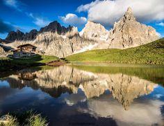Baita Segantini Passo Rolle Dolomiti Italia by Stefania Berlanda