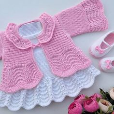 <img> Have a good evening, no fate, no. Recipe for previous shares İpim himalaya everyday bebe lux Şiş no - Crochet Dress Girl, Baby Girl Crochet, Crochet Baby Booties, Crochet For Kids, Crochet Baby Sweaters, Knitted Baby Clothes, Knitted Romper, Crochet Baby Dress Pattern, Baby Cardigan Knitting Pattern