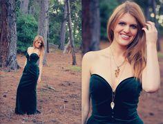 Caroline Dress. Designer caroline charles london velvet emerald green 80s ballgown with sweetheart neckline M L AUS 12 14