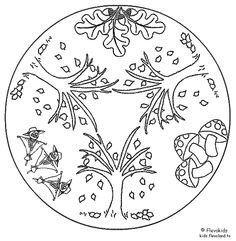 tree print here might be cool on a family tree charm made on shrink plastic. Mandala Coloring Pages, Animal Coloring Pages, Coloring Book Pages, Coloring Pages For Kids, Coloring Sheets, Food Coloring, Pyrography Patterns, Ecole Art, Tree Print