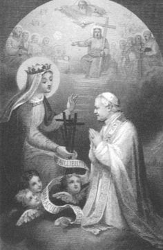 Pope Pius IX and the Immaculate Conception, 1854